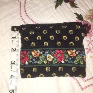 Vera Bradley zipper small coin purse